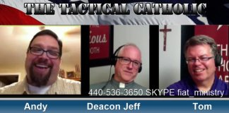 The Catholic Cafe Podcast, Deacon Jeff Drzycimski,Tom Dorian