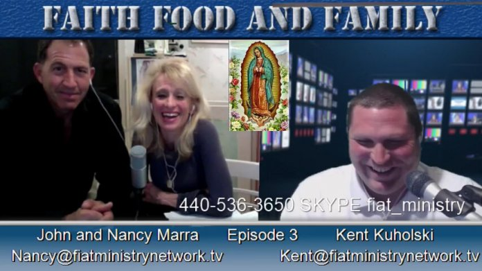 John Marra, Nancy Marra, Food, Catholic Podcast