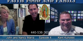 John Marra, Nancy Marra, Food, Catholic Podcast, Jesus