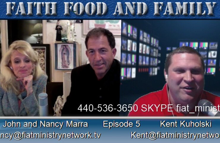 John Marra, Nancy Marra, Food, Catholic Podcast, Italian Vegan Wedding Soup